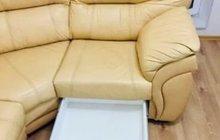 Кожаный диван угловой