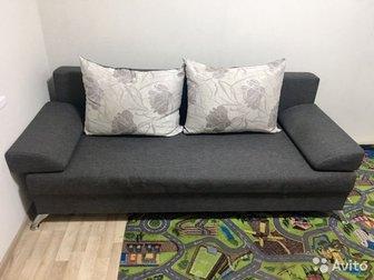Продам диван В отличном состоянии Раскладывается Спальное  место 130*190 в Орске