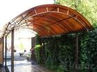 Скачать бесплатно фотографию Мебель для дачи и сада Навесы для автомобиля в Печорах 38236856 в Печоры