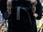 Фото в   Мутоновая воротник чернобурка, кожанный пояс, в Пензе 6000