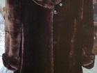 Фотография в Одежда и обувь, аксессуары Женская одежда продам мутоновую шубу темно-шоколадного цвета, в Пензе 8000