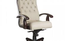 Кресло руководителя Ботичелли DB-13, белое