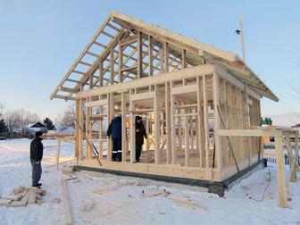 Смотреть изображение  Построим коробку каркасного дома в Пензе 34040830 в Пензе