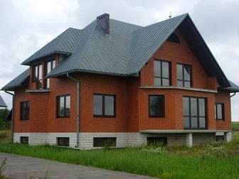 Скачать фото  Дома из кирпича строим в Пензе от фундамента до крыши 34321076 в Пензе