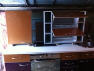 Кухня дл, 2м, 6 предметов встроенная бытовая техника Цвет комбинированный верх з