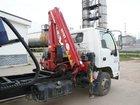 Скачать фото  Эвакуатор Isuzu 75 со сдвижной платформой и КМУ 33240807 в Перми