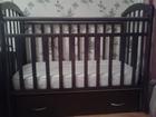 Скачать фото Детская мебель Детская кроватка Алита-5 новая 34903623 в Перми