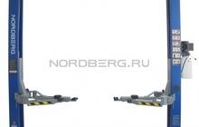 Подъемник двухстоечный, г/п 4 тонны Nordberg N4120A-4T (220B/380B)