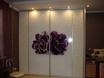 Смотреть foto Мебель для прихожей Стекло с фотопечатью для шкаф-купе 34164567 в Перми