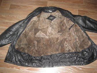 Скачать фотографию Мужская одежда Кожанная куртка 34392234 в Перми