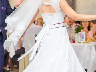 Увидеть изображение  Свадебное платье с фатой 38886287 в Перми