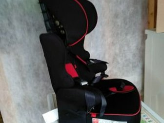 Кресло с системой крепления ISOFIX и якорным креплением, 5 ремней, регулировка по высоте, спинка снимается,  Пользовались 3 месяца, так что состояние нового!Aвтокрeсло в Перми
