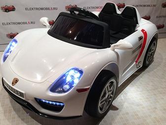 Скачать фото  Продаем детский электромобиль порше o 003 oo 36095020 в Петрозаводске