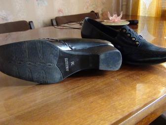 Смотреть foto Женская обувь Туфли р36 импортные (Венгрия, Голландия) новые,кожаные 36647735 в Петрозаводске