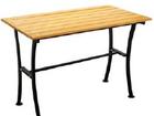 Уникальное фото Мебель для дачи и сада Стол металлический Романтика 1,2м 32414579 в Питере
