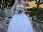 Фотография в Одежда и обувь, аксессуары Свадебные платья Великолепное свадебное платье на корсете в Пятигорске 0