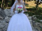 Изображение в Одежда и обувь, аксессуары Свадебные платья Великолепное свадебное платье на корсете в Пятигорске 15000