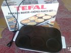 Блинница multi crepes party tefal