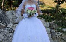 Продаю свадебное платье в хорошем состоянии