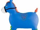 Новое фото  Лошадь-прыгунок синяя KID-HOP - это мечта 34483950 в Подольске