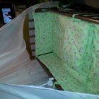 кроватка -качалка с ящиком