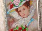 Фотография в   Картины, вышитые бисером, оформлены в багетной в Пскове 4500