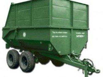 Смотреть изображение  Полуприцеп самосвальный тракторный ПСТ-7-I 33246234 в Пскове