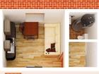 Номер объекта в базе 13823 Продам квартиру-студию в коттедже