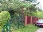 На 97 км трассы Минского шоссе рядом с деревне Пушкино в СНТ
