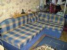 Фотография в Мебель и интерьер Мягкая мебель Срочно, в связи с переездом, продается синяя в Пыть-Яхе 3500