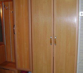 Фотография в Мебель и интерьер Мебель для прихожей Срочно продается узкий шкаф-штанга выдвигается в Пыть-Яхе 1500
