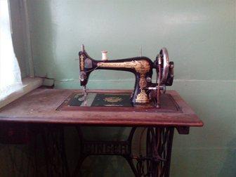 Скачать бесплатно изображение  продам швейную машинку зингер zinger на станине 32291601 в Раменском