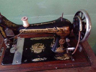 Скачать фото  продам швейную машинку зингер zinger на станине 32291601 в Раменском
