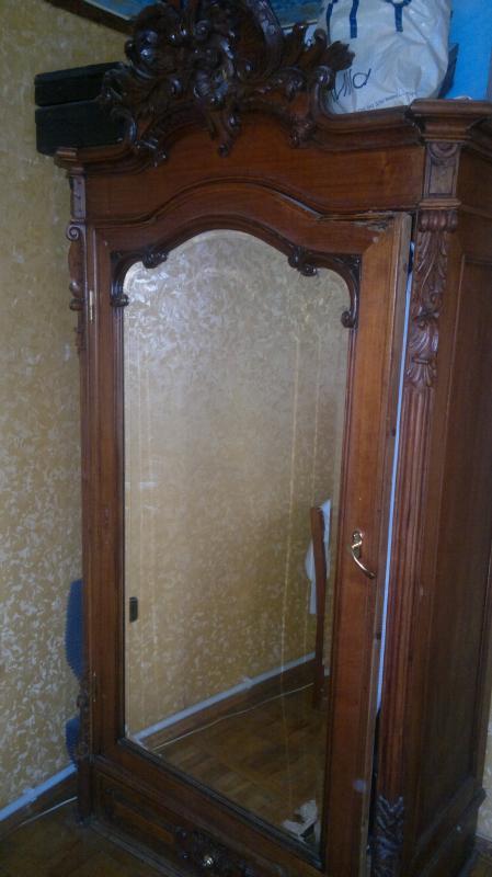 Ростов-на-дону: антикварный платяной шкаф зеркальный цена 15.