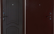 Наружный лист металла  1, 8 мм. Гнутая кромка;