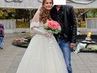 Фото в Одежда и обувь, аксессуары Свадебные платья Продаю свадебное платье 46-48 размер цвет в Ростове-на-Дону 15000