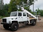 Свежее изображение Автогидроподъемник (вышка) Автовышка ГАЗ 33081(2-х рядная кабина),высота подъема 20м 33025352 в Ростове-на-Дону