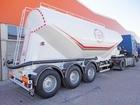 Смотреть изображение Цементовоз Цементовоз NURSAN Millenium 35 м3 67980179 в Новосибирске