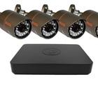 Комплект IP-видеонаблюдения уличный