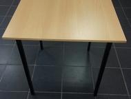 Стол обеденный Стол обеденный (ЛДСП) 700мм*700мм*750мм (высота) – 1260р.   Стол