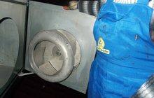 Чистка систем вентиляции от жира и пыли
