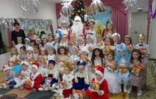 Дед Мороз и Снегурочка домой, в школу, детский сад