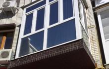 Все виды отделочных работ на балконе