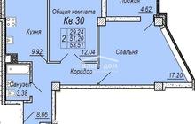 2 комнатная квартира в Нахичевани, район Театральной площади