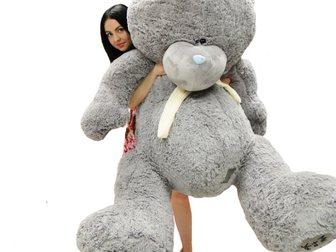 Просмотреть фото  Огромный плюшевый мишка Тедди по супер цене! 33418426 в Ростове-на-Дону