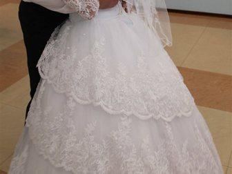 Уникальное фото Женская одежда Продаю по символической цене идеальное свадебное платье 33658885 в Зернограде