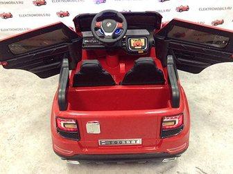 Уникальное фото  Продам детский электромобиль бмв t001t с кожаным сиденьем и полным приводом 34980355 в Ростове-на-Дону