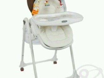 Скачать foto  Новый стульчик для кормления Brevi Италия из экокожи 35092783 в Ростове-на-Дону