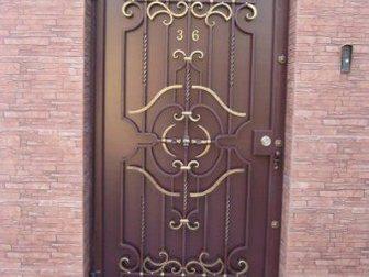 Скачать фотографию  Кованые ворота, двери, решетки на окна 35368804 в Ростове-на-Дону