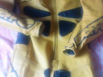 Смотреть фотографию  Мужской кожаный мотокомбенизон 36597038 в Ростове-на-Дону